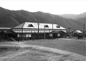 省線 津山駅