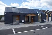 勝間田駅外観