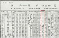 金川行 1964年昭和39年時刻表 土曜日.png