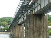 津山線旭川橋梁