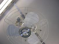 JNR表記の扇風機