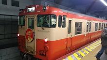 岡山駅入線