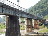 津山線宇甘川橋梁