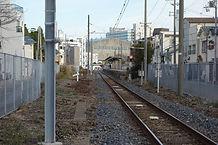 和田岬駅を望む