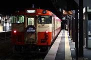 夜桜列車復路 津山1