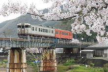 宇甘川鉄橋