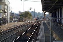 北条町駅ホーム