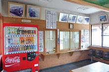 加茂駅舎内部 2016-11