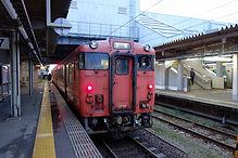 高岡駅 氷見線ホーム