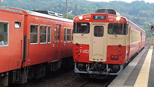津山線普通運用 キハ40 2134