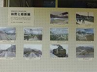 林野駅展示①