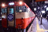 津山夜桜列車(津山駅)