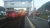福渡3列車並び