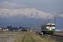 東北色 雪山