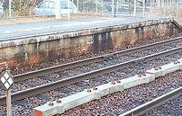 イギリス積み煉瓦 福渡駅