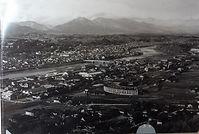昭和28年の扇形機関車庫