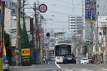 東粉浜~塚西 通天閣を望む