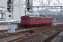 姫路を出た列車