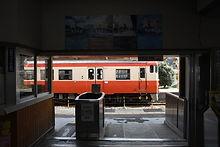 転線した列車
