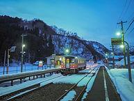 雪景色の中で・・・