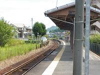 林野駅ホーム