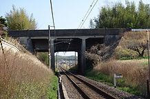 天神川 跨線水路橋 玉水側