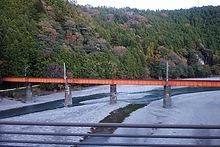大井川を渡る鉄橋