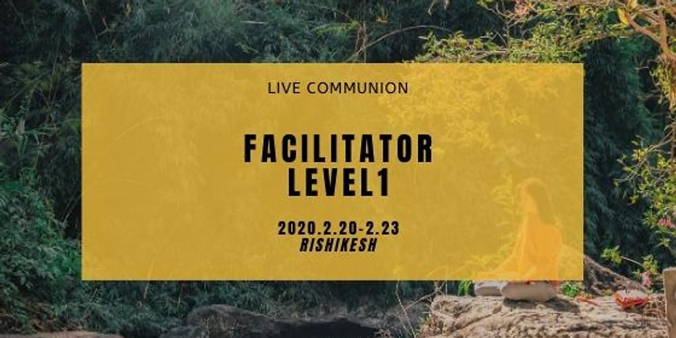 Live communion ファシリテーターコース レベル1 in INDIA