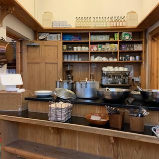 cafe service area