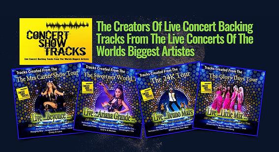 Concert Show Tracks - Live Concert Version Backing Tracks