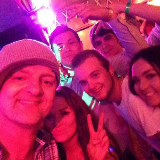 Marc With Splash Showgroup Fans