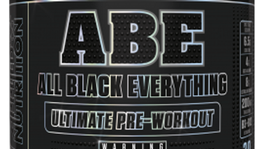 ABE (All Black Everything)