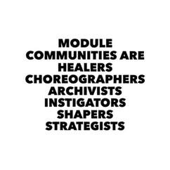 module communities are