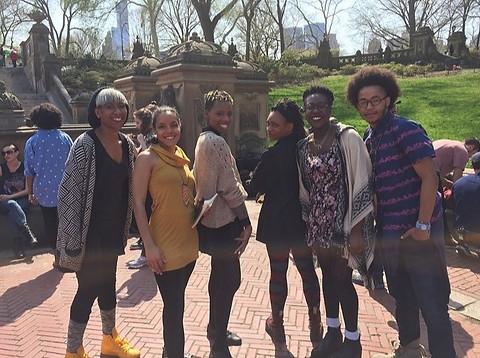 MTV Shoot Central Park New York City 2015