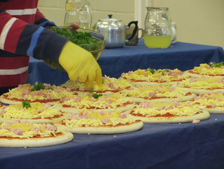 Pizza for Mission