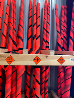 Road Construction Flags