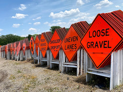 Road Construction Safety Signs