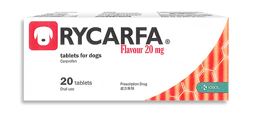 RYCARFA® Flavour 20mg tablets for dogs