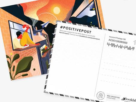 Bookblock x NHS - Positive Post Campaign