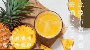 衣索比亞古吉黃莓日曬酒香慢速特殊發酵G1-冰鎮梅酒20/01批次🍸