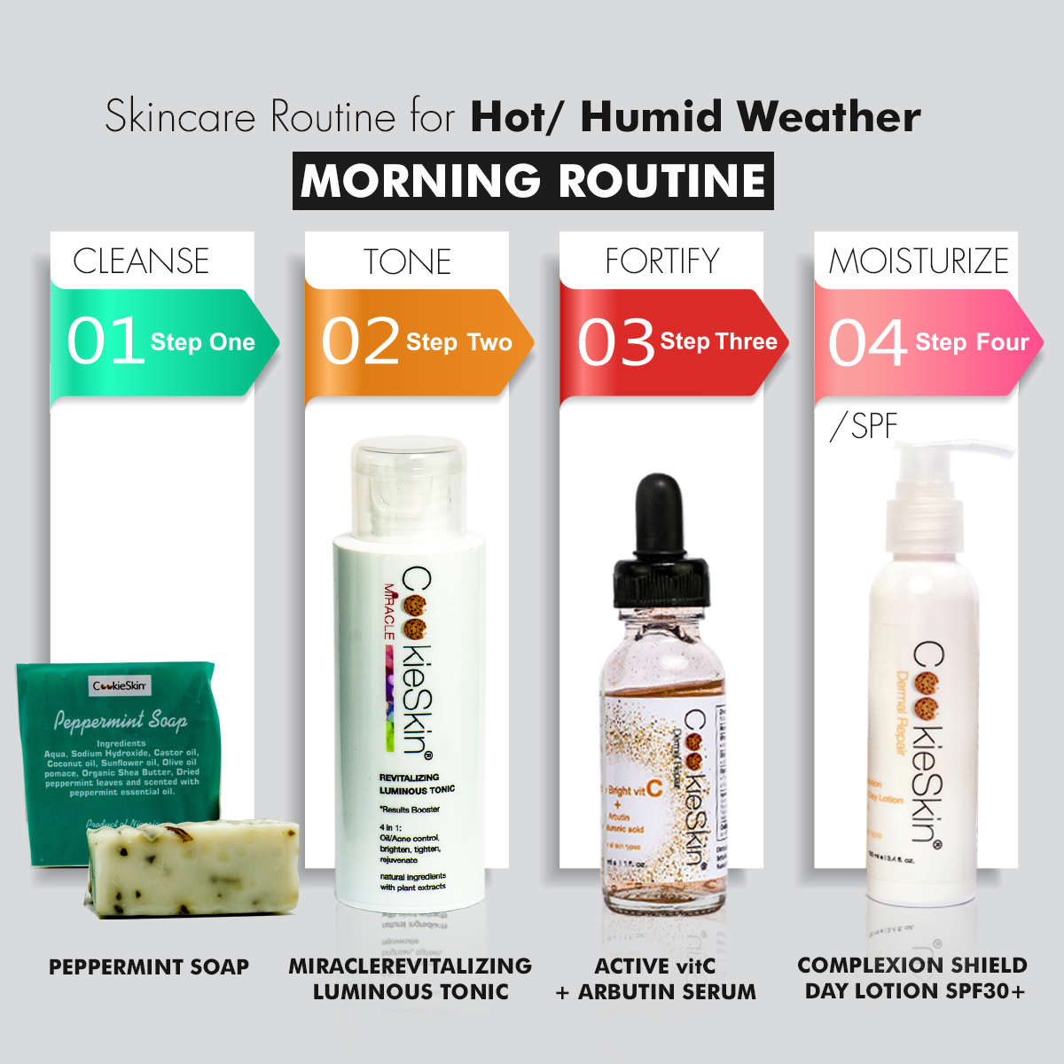 Morning Routine For Humid Weather