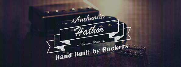 Hathor custom pickups logo