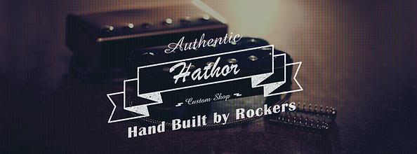 Hathor custom pickups logo