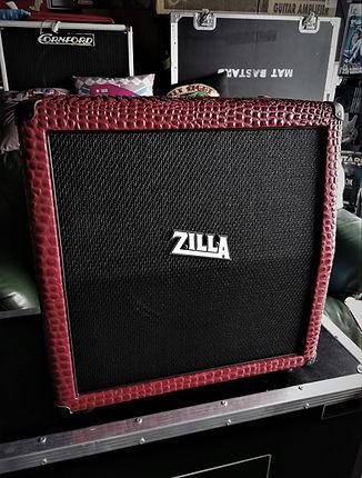 Zilla 112 angled mini stack, red alligat