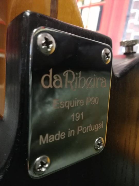 Da Ribeira Esquire P90 neck plate