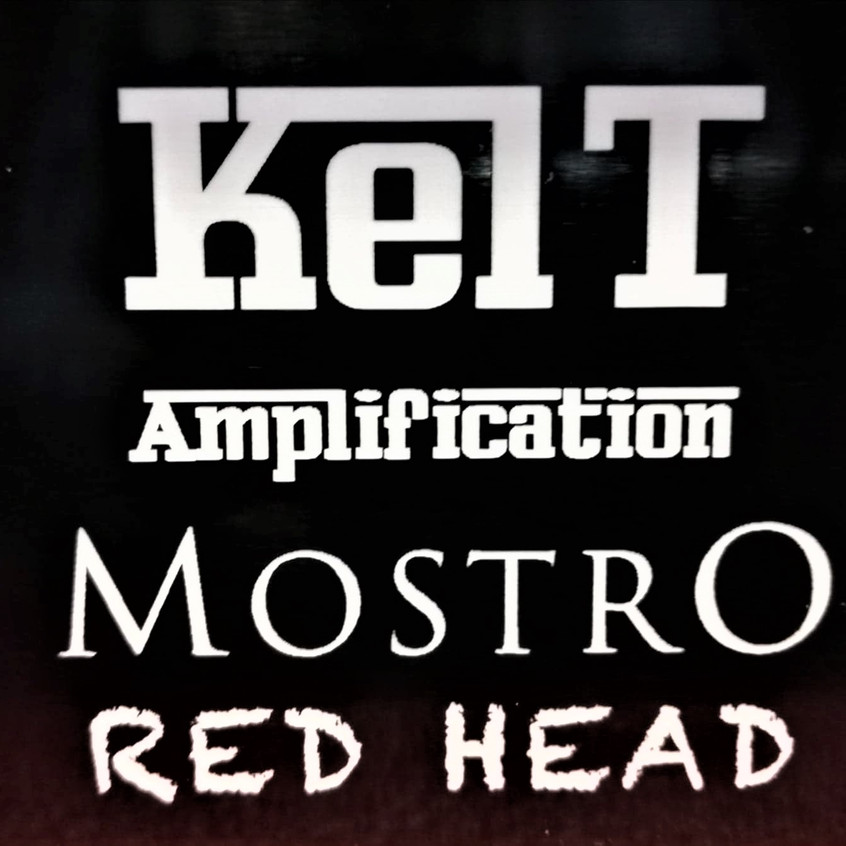 Mostro red head Logo