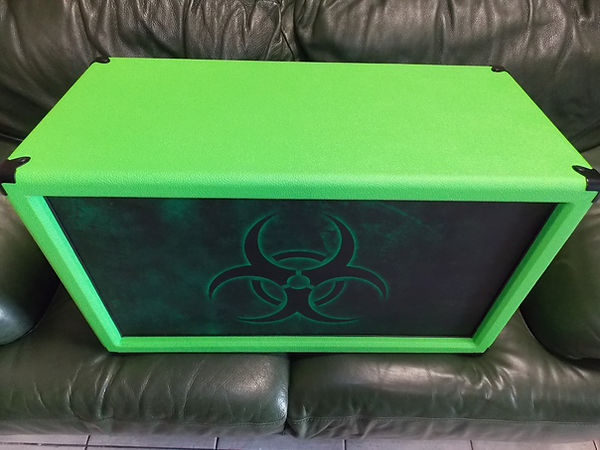 DL 212 PRO lime green tolex + custom gri