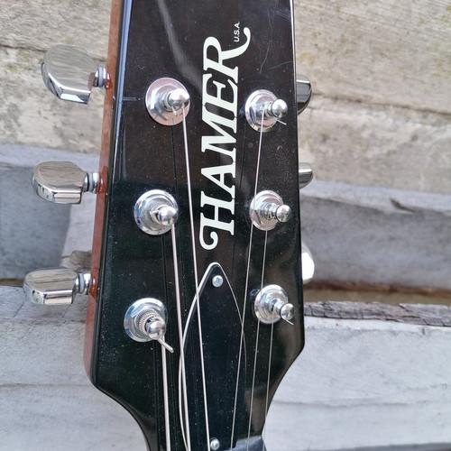 .Hamer (USA) archtop GT custom