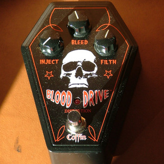 Coffin / Blood Drive distortion