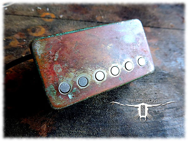 SP Custom _ Finition Heavy Rusty relic .